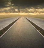 будущая дорога к Стоковое Изображение RF