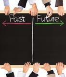 будущее в прошлом Стоковое Изображение RF