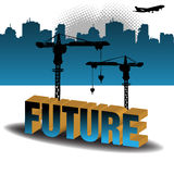 будущее здания Стоковое Фото