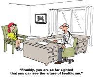 Будущее здравоохранения Стоковые Изображения