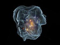 Будущее интеллекта Стоковые Фотографии RF