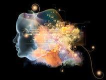Будущее интеллекта Стоковое фото RF
