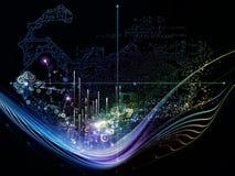 Будущее номеров Стоковое Изображение RF
