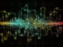 Будущее передач данных Стоковое Фото