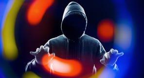 Будущее предохранение от хакера похитителя технологии Стоковая Фотография RF