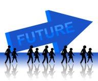 Будущее Стоковые Фотографии RF