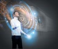 будущие технологии Стоковая Фотография RF