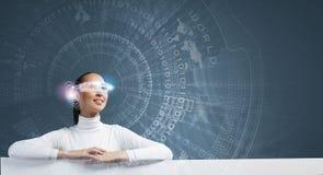 будущие технологии Стоковое фото RF