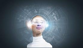 будущие технологии стоковая фотография
