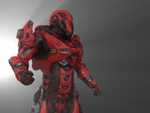 будущий воин Стоковое фото RF