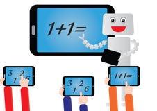 Будущий класс математики Стоковые Изображения