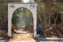 Будущий парк в Sidi Ifni, Марокко Стоковая Фотография