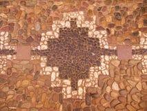 Булыжники с инкрустацией креста lnca Стоковое Изображение RF