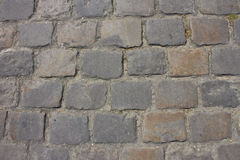 Булыжник Парижа водя к Sacre Coeur Стоковое фото RF