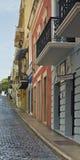 Булыжник, старый Сан-Хуан, Пуэрто-Рико Стоковые Изображения RF