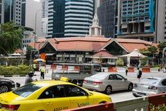 Бульвар ¡ Ð entral в Сингапуре стоковые фото
