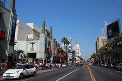 Бульвар Голливуда Стоковая Фотография