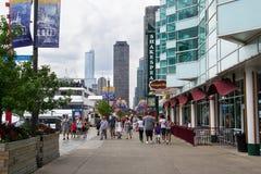 Бульвар Мичигана в chigago Стоковое Фото