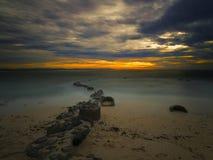 Бульвар океана стоковые изображения