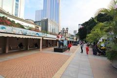 Бульвар парка Kowloon шуточных звезд в Гонконге Стоковые Фото