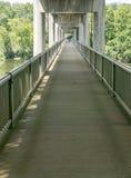 Бульвар Риджа †дорожки моста James River «голубой, Вирджиния, США Стоковые Фото