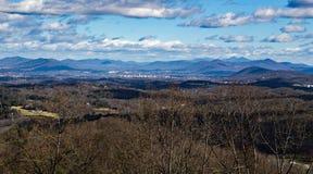 Бульвар Риджа †долины Blackwater «голубой, Вирджиния, США стоковые изображения rf