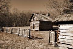 Бульвар Риджа кабины Puckett's голубой, Вирджиния, США Стоковое фото RF