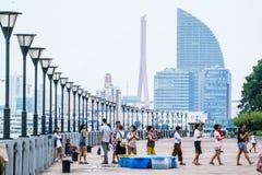 Бульвар Binjiang Стоковые Изображения RF