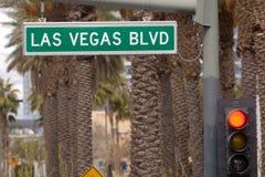бульвар Las Vegas Стоковая Фотография RF