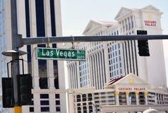 бульвар Las Vegas Стоковые Изображения