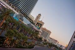 бульвар Las Vegas стоковые изображения rf
