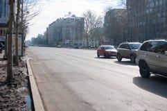 Бульвар Magheru Стоковая Фотография RF