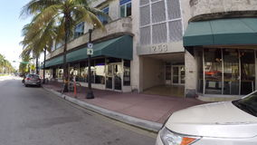 Бульвар Miami Beach Вашингтона видеоматериал