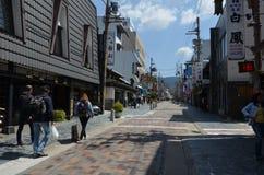 Бульвар Nara Япония sanjo-dori Стоковое фото RF