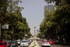 Бульвар Reforma Стоковые Фото