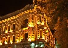Бульвар Rustaveli в Тбилиси Грузия Стоковое Изображение