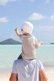 будьте отцом его сынка совместно Стоковая Фотография RF