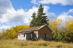 будьте фермером дом старая Стоковая Фотография