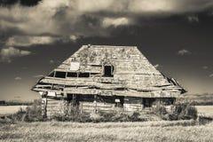 будьте фермером дом старая Стоковое Изображение RF