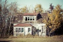 будьте фермером дом старая Стоковое фото RF