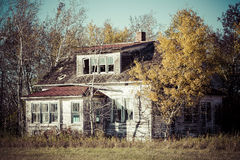 будьте фермером дом старая Стоковые Изображения RF