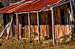 будьте фермером дом старая Стоковые Фото