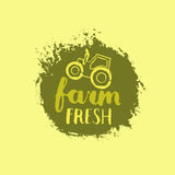 Будьте фермером свежий ярлык Стоковое Фото