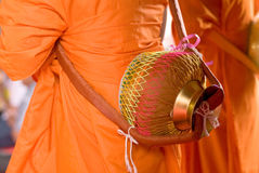 буддийское посвящение Стоковые Изображения RF