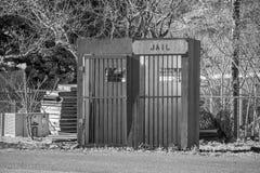 Бывшая тюрьма в деревне Beatty - BEATTY, США - 29-ОЕ МАРТА 2019 стоковые изображения