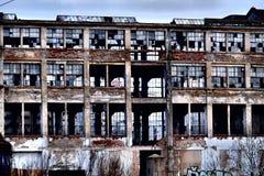 Бывшая фабрика Стоковое фото RF