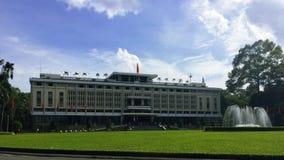 Бывшее здание капитолия южного Вьетнама Стоковая Фотография