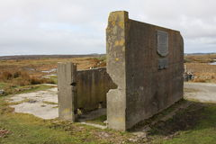 Бывшее место Marconi Стоковые Изображения RF
