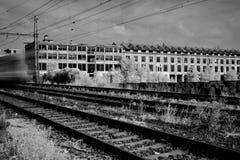Бывшее Kolbenka в Праге стоковые фотографии rf