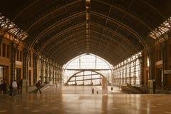 бывший внутренний поезд станции Стоковые Изображения RF